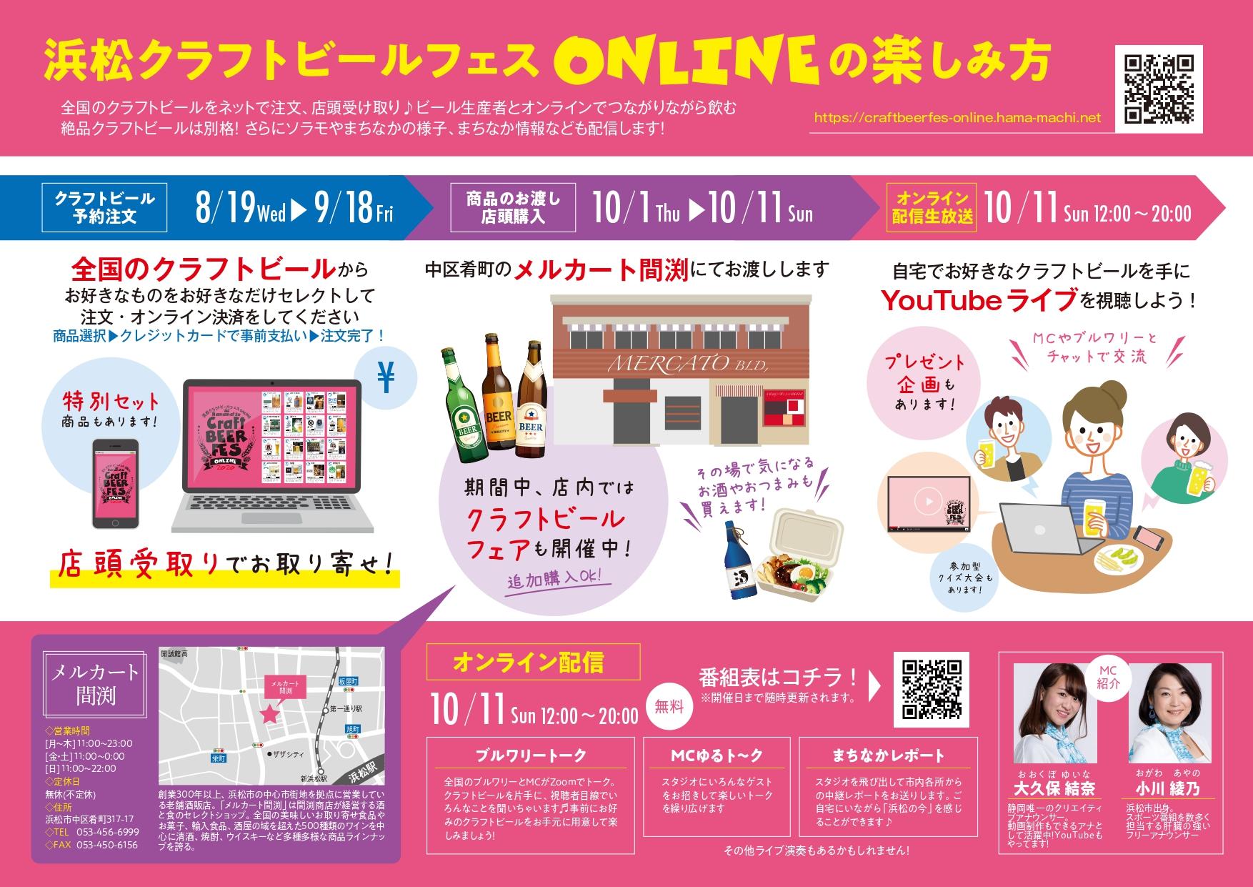 【浜松クラフトビールフェスONLINE2020】クラフトビール予約注文がスタートしました♩ | Any – エニィ